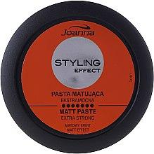 Düfte, Parfümerie und Kosmetik Modellierende Haarpaste mit Matt-Effekt Extra starker Halt - Joanna Styling Effect Extra Strong Matt Paste