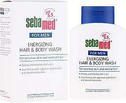 Düfte, Parfümerie und Kosmetik Duschgel - Sebamed Men Energizing Hair & Body Wash