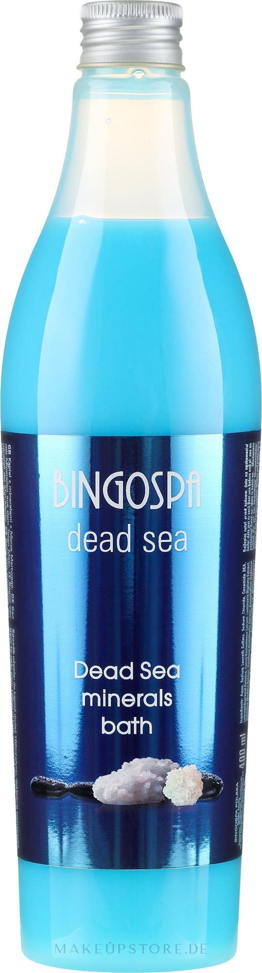 Badeschaum mit Mineralien aus dem Toten Meer - Bingo Spa Dead Sea Minerals Bath — Bild 400 ml