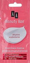 Anti-Falten Gesichtscreme-Maske - AA Beauty Bar Anti Wrinkle Creamy Face Mask — Bild N1