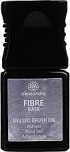 Düfte, Parfümerie und Kosmetik Haftgel aus Glasfaser - Alessandro International UV/LED Brush On Fiber Base