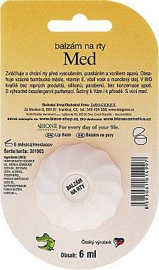 "Lippenbalsam ""Honig"" - Bione Cosmetics Honey Vitamin E Lip Balm — Bild N2"
