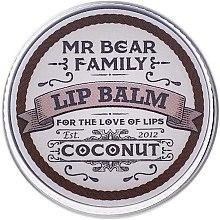 Düfte, Parfümerie und Kosmetik Lippenbalsam - Mr. Bear Family Lip Balm Coconut