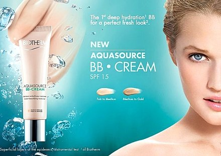 Feuchtigkeitsspendende BB Gesichtscreme LSF 15 - Biotherm Aquasource BB Cream SPF 15 — Bild N3