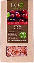 Düfte, Parfümerie und Kosmetik Regenerierendes Badesalz - ECO Laboratorie Restoring Bath Sea Salt