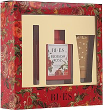 Düfte, Parfümerie und Kosmetik Bi-Es Blossom Roses - Duftset (Eau de Parfum/100 ml + Duschgel/50ml + Parfum/12ml)