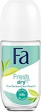 Düfte, Parfümerie und Kosmetik Deo Roll-on Antitranspirant - Fa Fresh & Dry Deodorant Roll-On
