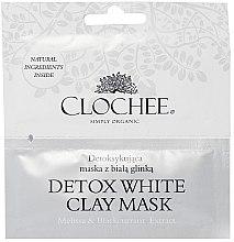 Düfte, Parfümerie und Kosmetik Entgiftende Gesichtsmaske mit weißer Tonerde - Clochee Detox Wax Clay Mask