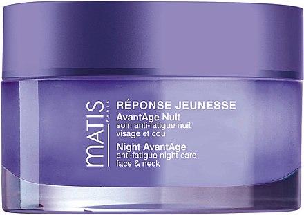 Anti-Aging Nachtcreme für Gesicht und Hals gegen Müdigkeit - Matis Reponse Jeunesse Night Avantage Anti-Fatigue Night Care — Bild N1