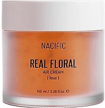 Düfte, Parfümerie und Kosmetik Gesichtscreme mit Rosenblättern - Nacific Real Floral Rose Air Cream