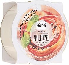 Düfte, Parfümerie und Kosmetik Soja-Duftkerze French Apple Cake - House of Glam Daylight Collection French Apple Cake Candle (Mini)