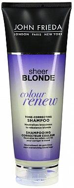 Tönungsshampoo für blondiertes Haar - John Frieda Sheer Blonde Color Renew Shampoo — Bild N3