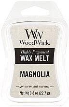 Düfte, Parfümerie und Kosmetik Tart-Duftwachs Magnolia - WoodWick Mini Wax Melt Magnolia Smart Wax System