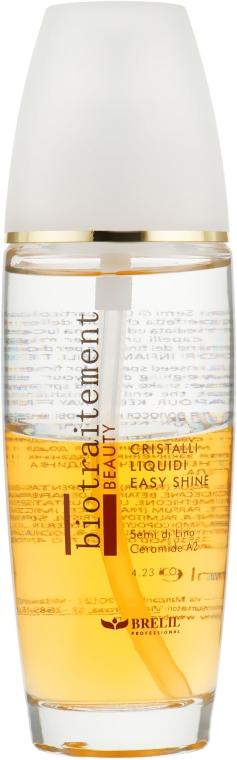 Zweiphasige Flüssigkristalle mit Ceramiden - Brelil Bio Traitement Beauty Cristalli Liquidi Easy Shine — Bild N1