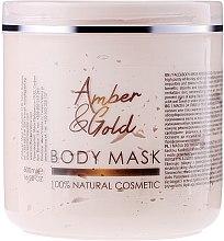 Düfte, Parfümerie und Kosmetik Gesichts- und Körpermaske Amber und Gold - Hristina Cosmetics Sezmar Professional Body Mask Amber & Gold