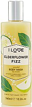 Düfte, Parfümerie und Kosmetik Duschgel mit Holunder-Cocktail - I Love... Elderflower Fizz Body Wash