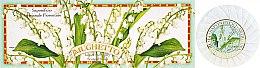 Seifenset Maiglöckchen - Saponificio Artigianale Fiorentino Lily Of The Valley Soap — Bild N1