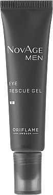 Tonisierendes Augenkonturgel - Oriflame NovAge Men Eye Rescue Gel — Bild N2