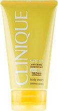 Düfte, Parfümerie und Kosmetik Sonnenschutzcreme für den Körper SPF 40 - Clinique Body Cream