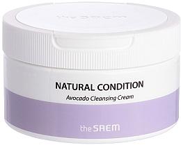 Düfte, Parfümerie und Kosmetik Feuchtigkeitsspendende Reinigungscreme für das Gesicht mit Avocadoextrakt - The Saem Natural Condition Avocado Cleansing Cream