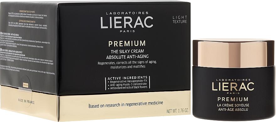 Anti-Aging seidige Gesichtscreme - Lierac Premium la Creme Soyeuse Texture — Bild N1