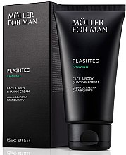 Düfte, Parfümerie und Kosmetik Rasiercreme - Anne Moller Man Flashtec Shaving Face And Body Shaving Cream