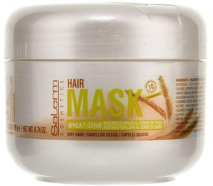 Pflegende Haarmaske mit Weizenkeimöl - Salerm Mascarilla Capilar  — Bild N2