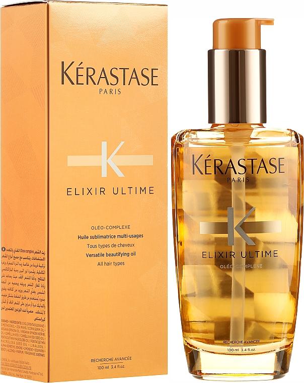 Haaröl - Kerastase Elixir Ultime Versatile Beautifying Oil — Bild N1