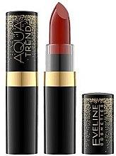 Düfte, Parfümerie und Kosmetik Intensiv feuchtigkeitsspendender Lippenstift - Eveline Cosmetics Aqua Trend Red Collection