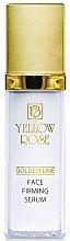 Düfte, Parfümerie und Kosmetik Straffendes und feuchtigkeitsspendendes Gesichtsserum für alle Hauttypen - Yellow Rose Golden Line Face Firming Serum