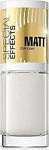 Düfte, Parfümerie und Kosmetik Mattierender Nagelüberlack №154 - Eveline Cosmetics Special Effects Matt Top Coat