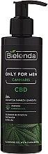 Düfte, Parfümerie und Kosmetik Reinigungsgel mit Cannabidiol für Gesicht und Bart - Bielenda Only For Men Cleansing Gel With Cannabidiol