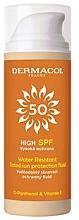 Düfte, Parfümerie und Kosmetik Wasserfestes getöntes Sonnenschutzfluid für das Gesicht SPF 50 - Dermacol Sun Tinted Water Resistant Fluid SPF50