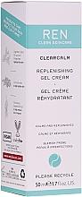 Düfte, Parfümerie und Kosmetik Beruhigende und regenerierende Gel-Creme für das Gesicht - Ren Clearcalm Replenishing Gel Cream