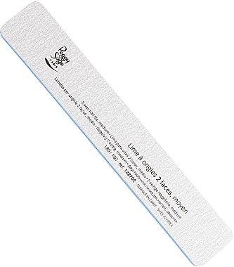 Doppelseitige Nagelfeile 180/180 Zebra - Peggy Sage 2-way Rectangular Medium Washable Nail File — Bild N1