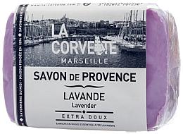 Düfte, Parfümerie und Kosmetik Naturseife Lavender - La Corvette Soap of Provence Lavender Scented Soap