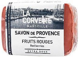 Düfte, Parfümerie und Kosmetik Seife Rote Beeren - La Corvette Provence Soap Red Berries