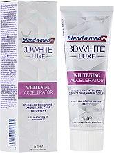 Düfte, Parfümerie und Kosmetik Aufhellende Zahnpasta 3D White Luxe Whitening Accelerator - Blend-a-med 3D White Luxe Whitening Accelerator