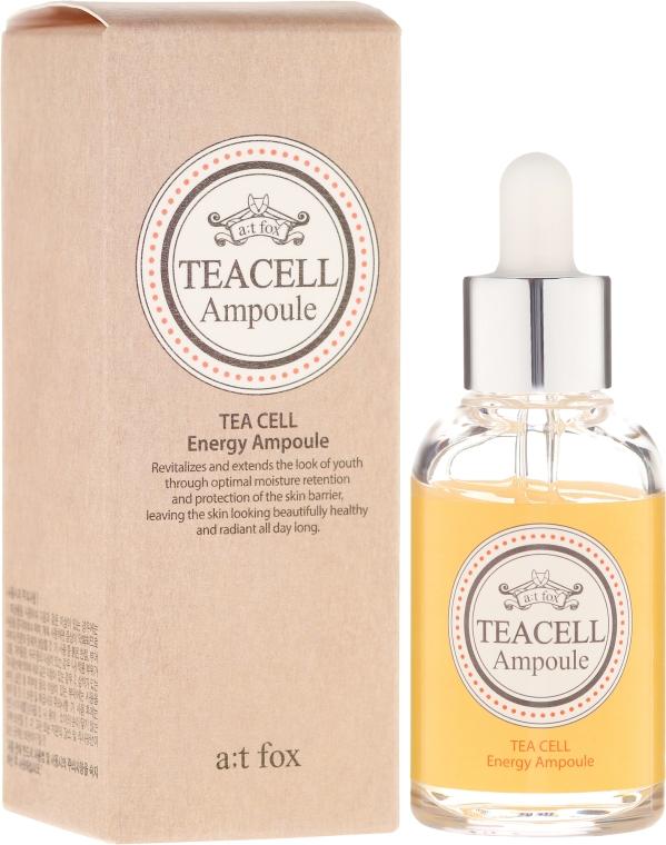 Regenerierendes Gesichtsserum mit japanischem Tee - A:t Fox Teacell Face Serum — Bild N1