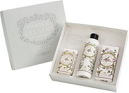 Düfte, Parfümerie und Kosmetik Set - Panier Des Sens Verbena (b/l/250ml + h/cr/75ml + soap/150g)