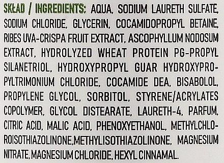 Beruhigendes Shampoo für empfindliche Kopfhaut mit Extrakt aus Feigen, Algen und Sheabutter - Ovoc Gooseberry Shampoo — Bild N3