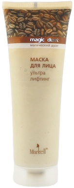 Straffende Gesichtsmaske - Markell Cosmetics Magic Duet — Bild N1