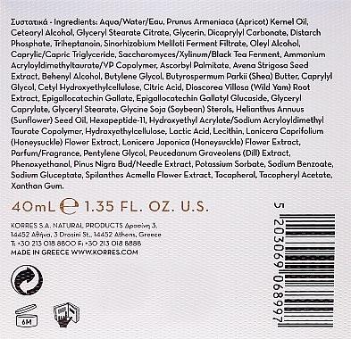 Tägliche Anti-Falten-Creme mit Schwarzkiefer - Korres 3D Black Pine Day Cream — Bild N3