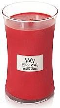 Düfte, Parfümerie und Kosmetik Duftkerze im Glas Crimson Berries - WoodWick Hourglass Candle Crimson Berries