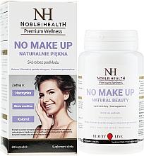 Düfte, Parfümerie und Kosmetik Nahrungsergänzungsmittel No Make Up für schöne Haut und Haare - Noble Health No Make Up