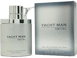 Düfte, Parfümerie und Kosmetik Myrurgia Yacht Man Metal - Eau de Toilette