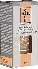 Düfte, Parfümerie und Kosmetik Nagelpflegebasis - Peggy Sage 4-in-1 Nail Treatment With Silicon