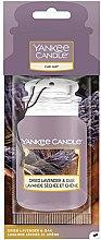 Düfte, Parfümerie und Kosmetik Papier-Lufterfrischer Dried Lavender & Oak - Yankee Candle Car Jar Dried Lavender & Oak