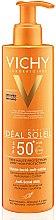Düfte, Parfümerie und Kosmetik Feuchtigkeitsspendende und beruhigende Anti-Sand Sonnenschutzmilch SPF 50+ - Vichy Ideal Soleil Anti-Sand Milk SPF50+