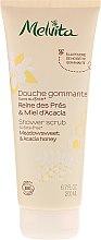 Düfte, Parfümerie und Kosmetik Glättendes Körperpeeling - Melvita Body Care Meadowsweet & Acacia Honey Shower Scrub